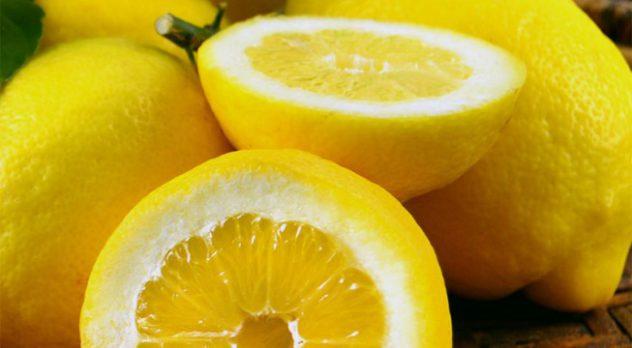 limão para receita do limoncello