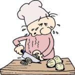 Cortar cebola e não chorar