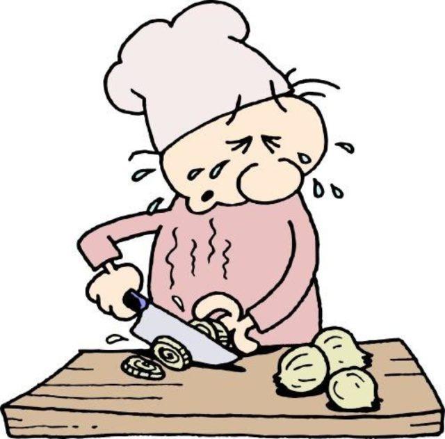 cortar cebola