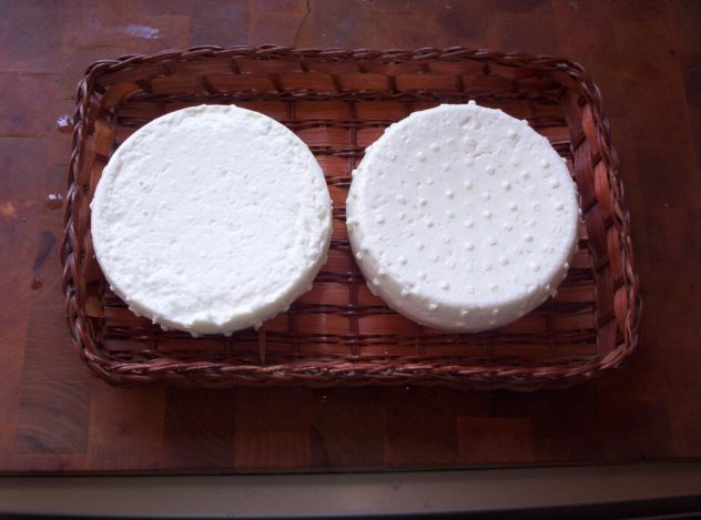 queijo caseiro
