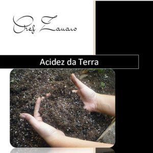 acidez da terra